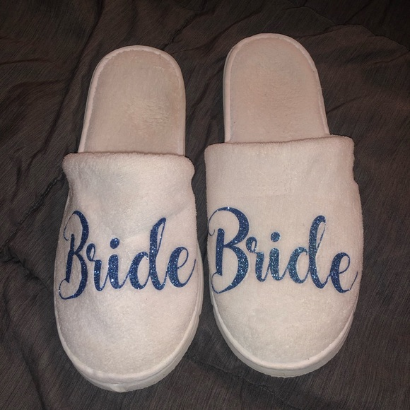 38a7070cbb0 Bride Wedding Slippers